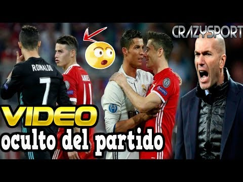 Lo que no se VIO entre JAMES y RONALDO | bayern munich vs real madrid |