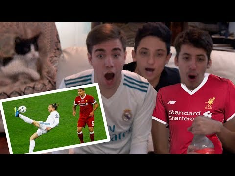 Real Madrid vs Liverpool 3-1 2018 REACCIONES DE UN HINCHA (FINAL CHAMPIONS) RESUBIDO