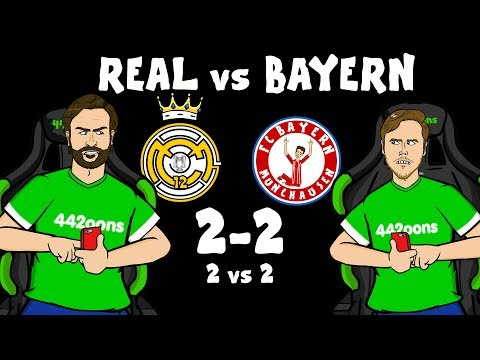 ⚽️2-2! Real Madrid vs Bayern Munich!⚽️ (Champions League Live Stream)