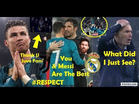 PLAYERS REACTION TO JUVENTUS VS REAL MADRID 0-3 2018 FT. RONALDO, BUFFON, ZIDANE