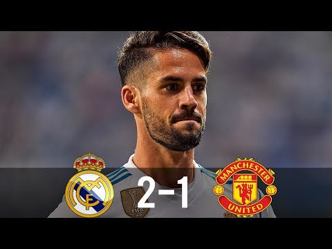 Real Madrid vs Manchester United 2-1 – All Goals & Extended Highlights – SCC 08/08/2017 HD
