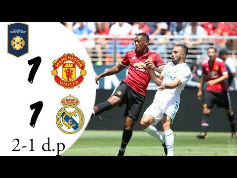 Manchester United vs Real Madrid 1-1 (2-1 d.p.) | Summary | International Champions Cup 25/07/2018.