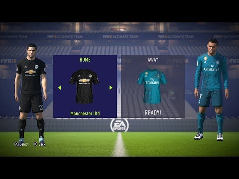 FIFA 18 Switch Gameplay – REAL MADRID vs. MANCHESTER UNITED – FULL GAME (Nintendo Switch 60fps)