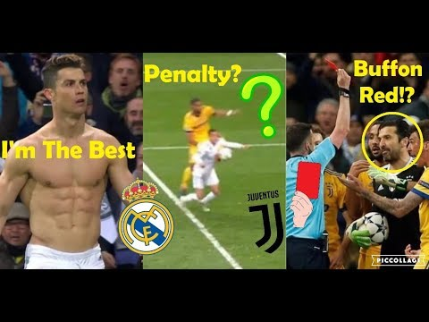 CRAZY REACTIONS TO REAL MADRID VS JUVENTUS 1-3 (4-3) 2018 FT. RONALDO & BUFFON RED CARD