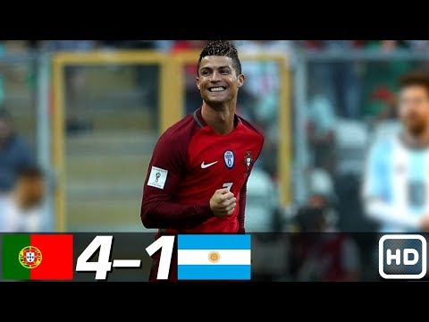 Portugal vs Argentina 4-1 – All Goals & Extended Highlights RÉSUMÉ & GOLES ( Last Matches ) HD