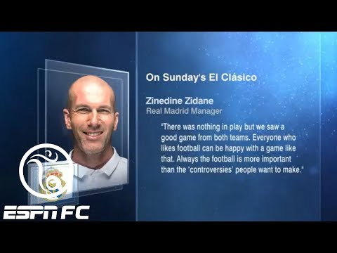 Did the referee cost Real Madrid the win vs. Barcelona in El Clasico? | ESPN FC