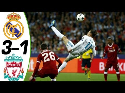 Real Madrid vs Liverpool 3-1 2018 – Match Preview UCL FINAL ( English Commentary ) 26/05/2018 HD