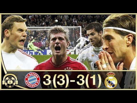 Bayern Munich vs Real Madrid || Champions League 2012 Ida y Vuelta