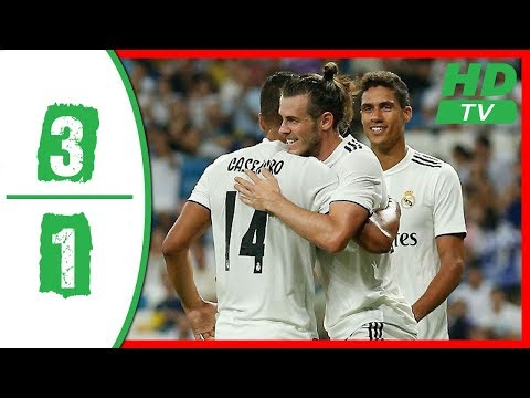 Real Madrid vs AC Milan 3-1 Highlights 2018