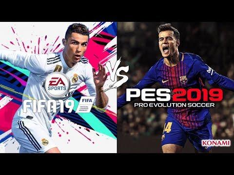 FIFA 19 vs PES 2019 E3 Trailer