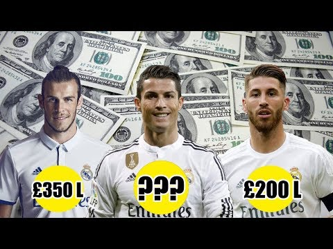 Real Madrid C.F  Players Salaries 2018 Weekly Wages
