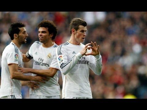Gareth Bale Amazing Goal Real Madrid 2-0 Elche 22/02/2014