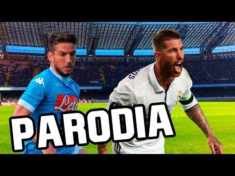 Canción Napoli – Real Madrid 1-3 (Parodia La Rompe Corazones – Daddy Yankee Ft Ozuna)