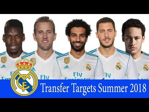 Real Madrid – Top 10 Transfer Targets Summer 2018