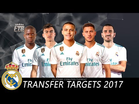 Real Madrid – Top 10 Transfer Targets Summer 2017