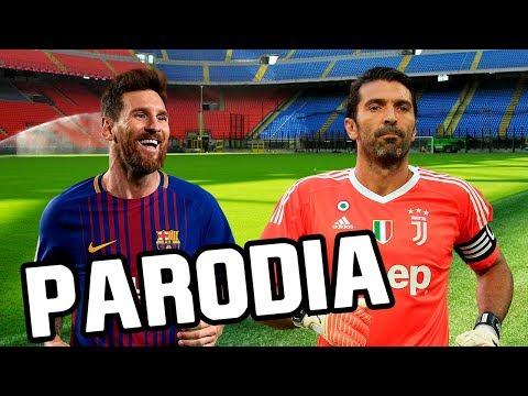 Canción Barcelona vs Juventus 3-0 (Parodia Nacho, Yandel, Bad Bunny – Báilame (Remix))