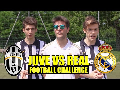 JUVENTUS VS REAL MADRID 1-4 – FOOTBALL CHALLENGE CON FAVIJ – iPantellas