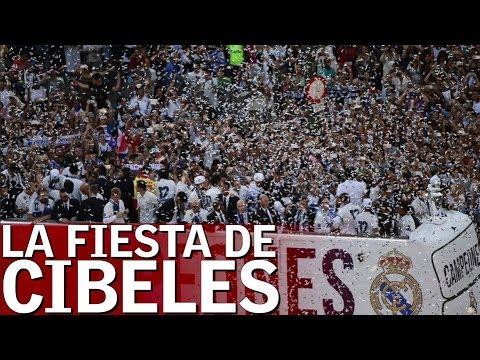 La fiesta completa del Real Madrid en Cibeles y el Bernabéu tras ganar la 13ª | Diario AS