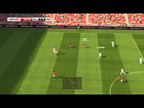 PES 2014 PC – Full Gameplay Footage – Manchester United vs Real Madrid [HD7770 – Full Match]