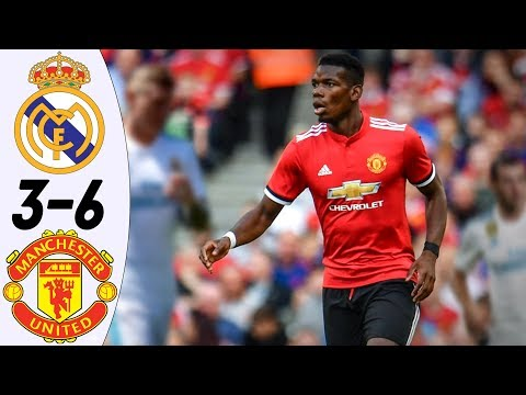 Real Madrid vs Manchester United 3:6 – All Goals & Highlights RESUMEN & GOLES (Last 2 Matches) HD