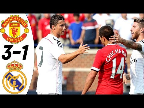 Manchester United vs Real Madrid 3:1 – All Goals & Extended Highlights RESUMEN & GOLES 02/08/2014 HD