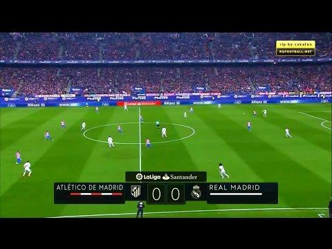 La Liga 19/11/2016 Atlético Madrid vs Real Madrid – HD – Full Match – English Commentary