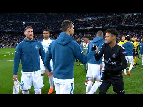 Neymar vs Real Madrid (Away) HD 1080i (14/02/2018)