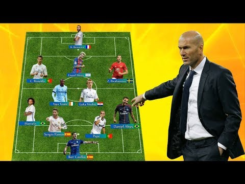 Zinédine Zidane's Dream Team [ All Time Best XI ]