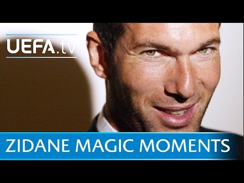 Zinédine Zidane skills and goals: New Real Madrid coach
