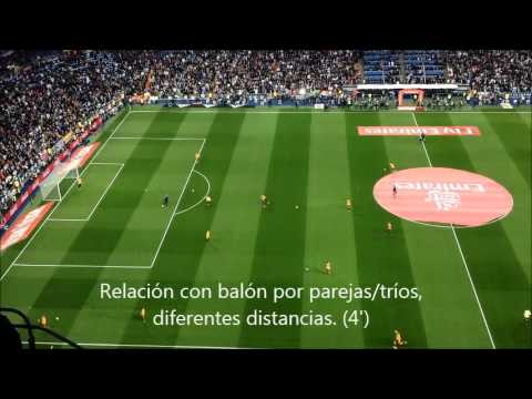 Calentamiento Pre-partido FC Barcelona vs Real Madrid (21/11/2015)
