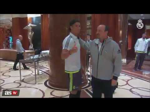 Cristiano Ronaldo – Rafa Benitez – First Meeting in Australia – Real Madrid Tour  2015