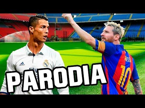 Canción Barcelona – Real Madrid 1-1 (Parodia CNCO – Reggaetón Lento)