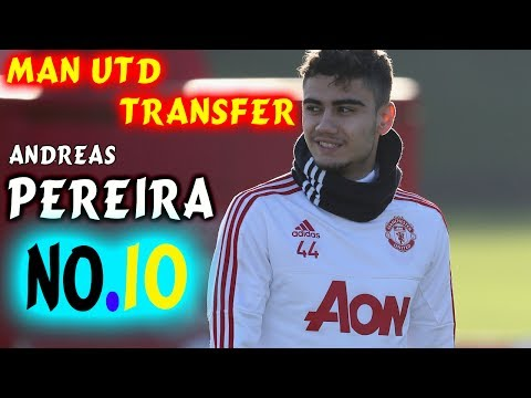 Andreas Pereira can be Manchester United's new No.10 this season | Transfer News Now