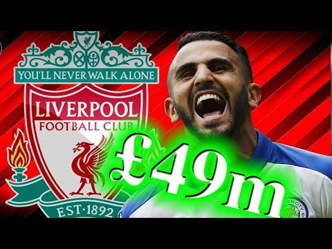 Leicester's Riyad Mahrez to undergo medical with Liverpool ahead of £49m transfer ● News Now ● #LFC