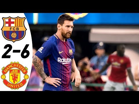 Barcelona vs Manchester United 2:6 – All Goals & Highlights RESUMEN & GOLES (Last 2 Matches) HD