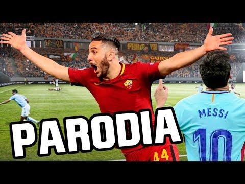 Canción Roma vs Barcelona 2018 (Parodia Dura – Daddy Yankee) 3-0 RESUBIDO