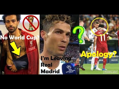 PLAYERS REACTION TO REAL MADRID VS LIVERPOOL 3-1 2018 UCL FINAL FT. SALAH, RAMOS