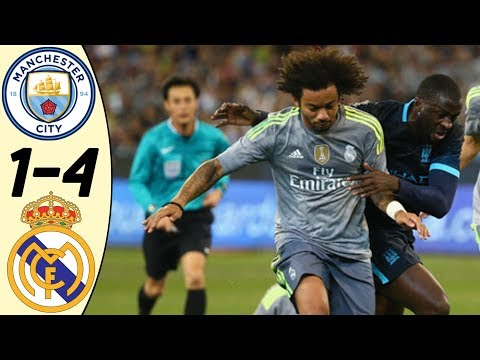 Manchester City vs Real Madrid 1:4 – All Goals & Highlights RESUMEN & GOLES (Last Match 2015) HD