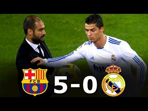 The DAY Barcelona DESTROYED Real Madrid – 29/11/2010