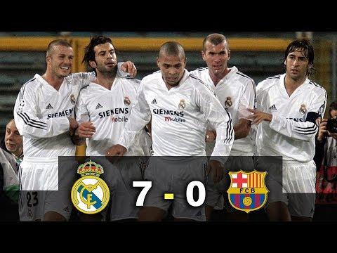 Real Madrid 7 – 0 Barcelona – El Clásico – Había una vez un Ronaldo – Parody Los Galácticos 2003
