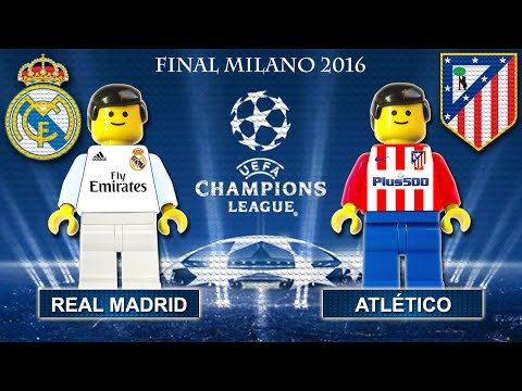 Champions League Final 2016 • Real Madrid vs Atletico Madrid • goal highlights Lego Football film