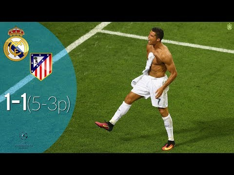 Real Madrid vs Atletico Madrid 1(5) -1(3) Highlights – UCL Final 28/05/2016