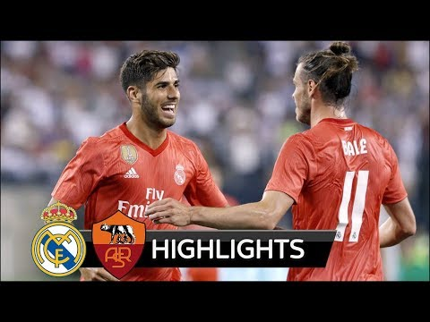Real Madrid vs AS Roma 2-1 – All Goals & Extended Highlights – Friendly 07/08/2018 HD
