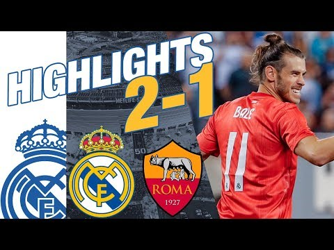 Real Madrid vs AS Roma 2-1 HIGHLIGHTS RESUMEN 2018