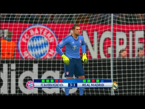 PES 2016 PC FC Bayern München – Real Madrid Penalty Shootout (UEFA Champions League)