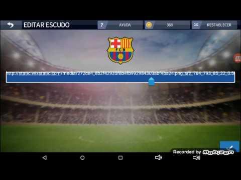 Como cambiar el escudo en dream league soccer 2016