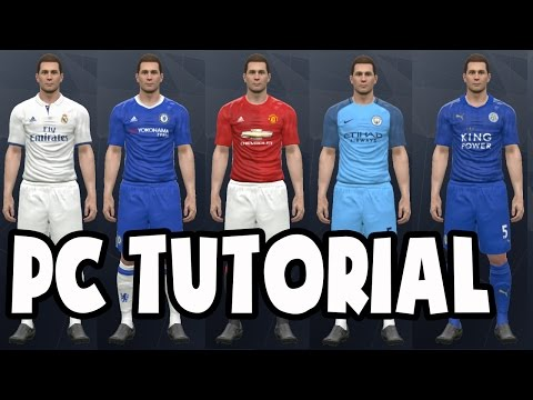 PES 2017 (PC) Original Kits and Licences Patch (Download Link + Tutorial) Pro Evolution Soccer 2017