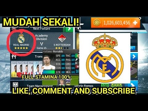 MERUBAH TIM DREAM FC MENJADI REAL MADRID 2018 – 19 | FULL STAMINA 100% | DREAM LEAGUE SOCCER 2018