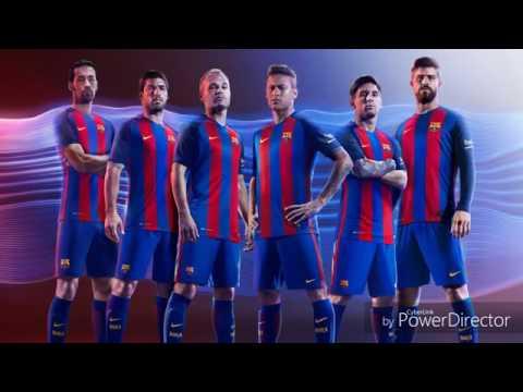 Fotbollnation.com fotbollströjor recension:Real Madrid & Barcelona 2016/2017 hemma och borta jersey