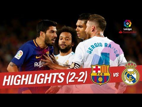 ElClásico – Resumen de FC Barcelona vs Real Madrid (2-2)